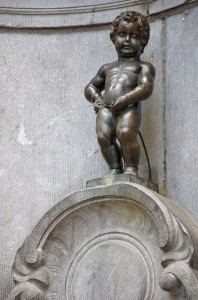 """Manneken Pis in Brussels"" licence :  CreativeCommons.org Myrabella."