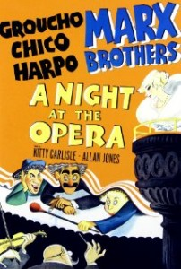 Night at Opera Poster: Source IMdb