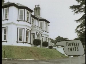 One of the Opening scenes of Fawlty Towers.
