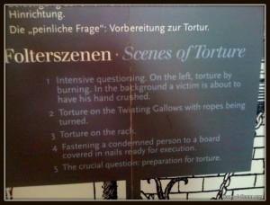 Torture sign.