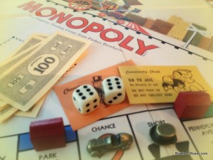 A well known board game.