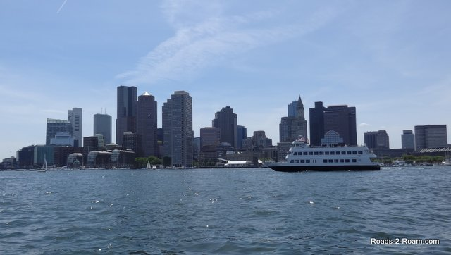 Photo of Boston taken from the River Taxi from Intercontinental Hotel