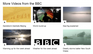 What the heck? Proof that the Brits love talking about the weather