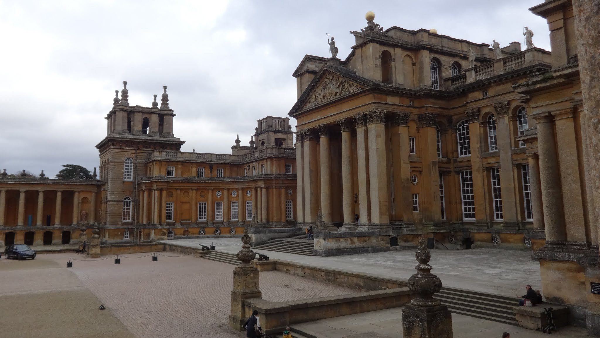 Blenheim palace : Birthplace of Winston Spencer Churchill