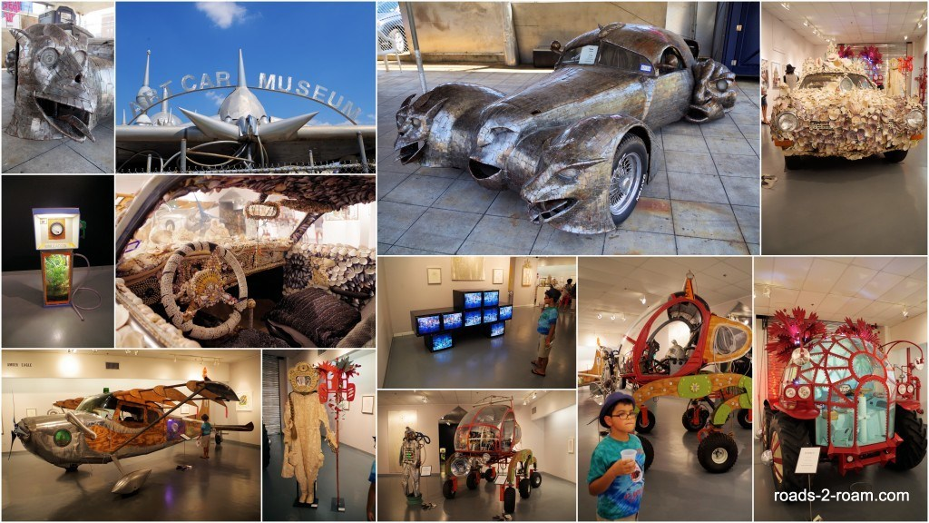 Houston's Art Car Museum.