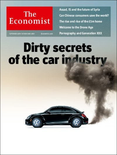 The front page of the Economist 23rd October edition