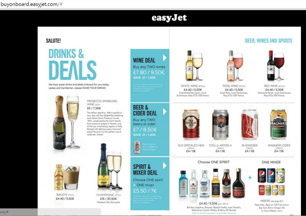 EasyJet deals
