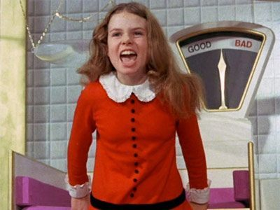 Bella Thorne or Veruca Salt? We can't tell the difference either.